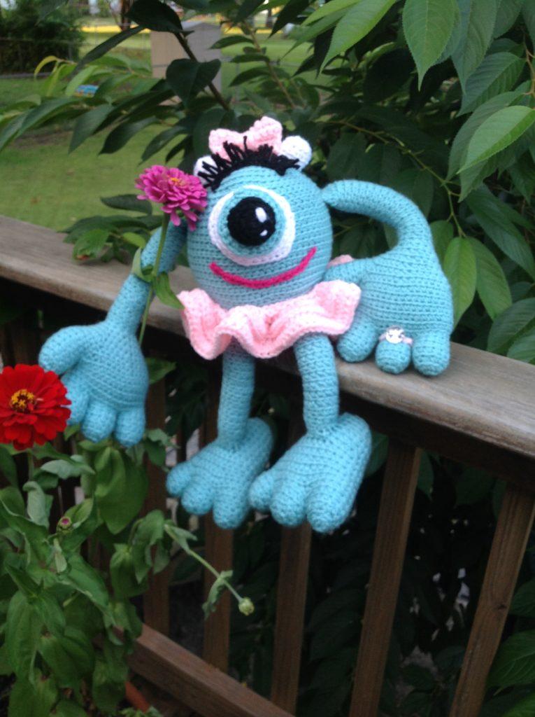 crochet monster - image 04