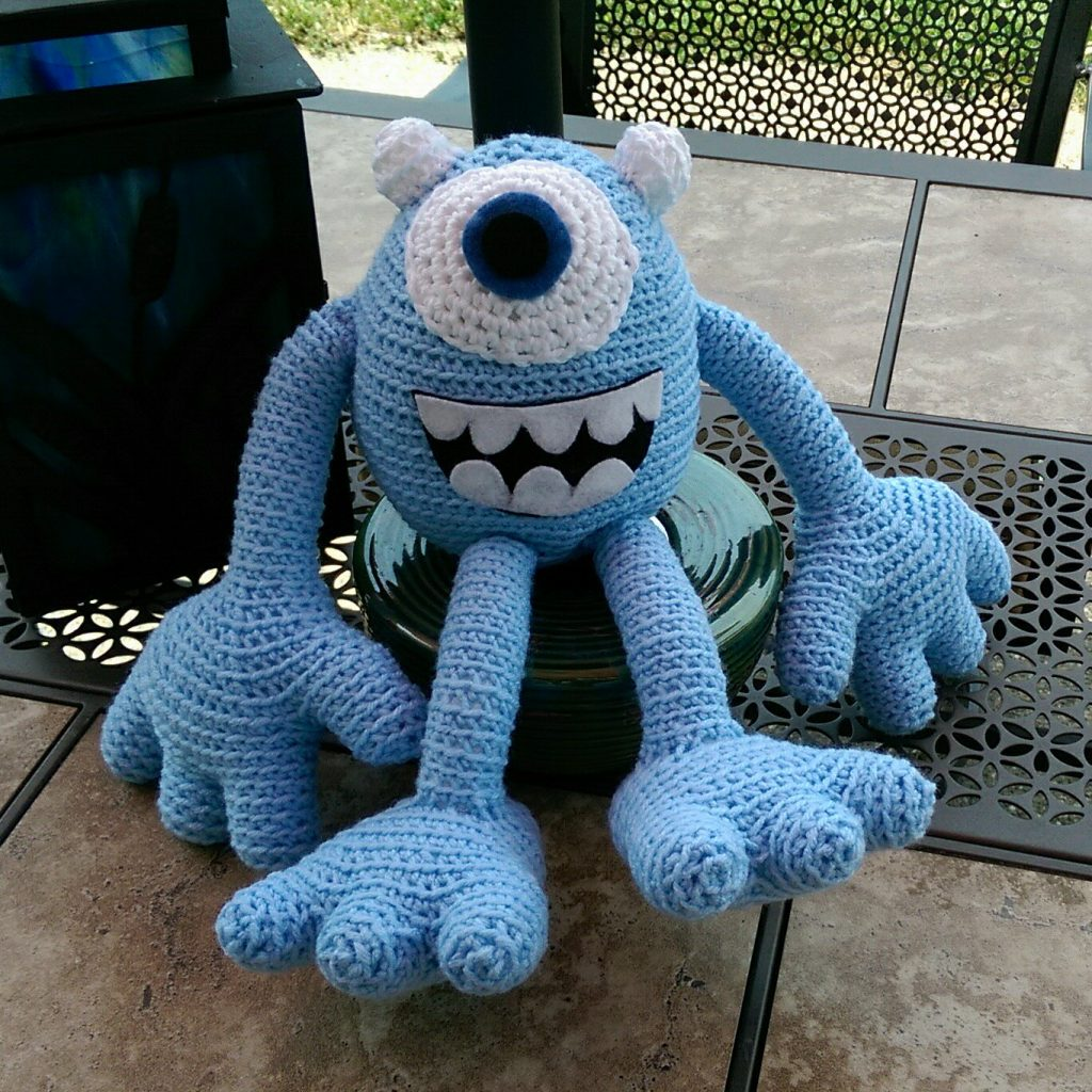 crochet monster - image 07