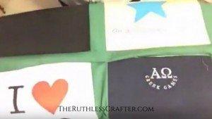 How to Make A T-Shirt Quilt: Adding Sashing 11