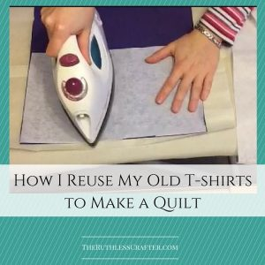 How I Reuse My Old T-shirt Quilts To Make A Quilt