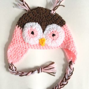 02a Owl Pink