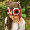 owl winter hat image 7