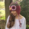 owl winter hat image 4