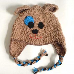 crochet puppy hats