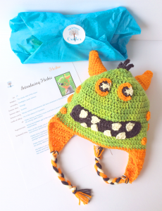 herbie hat, pattern, package