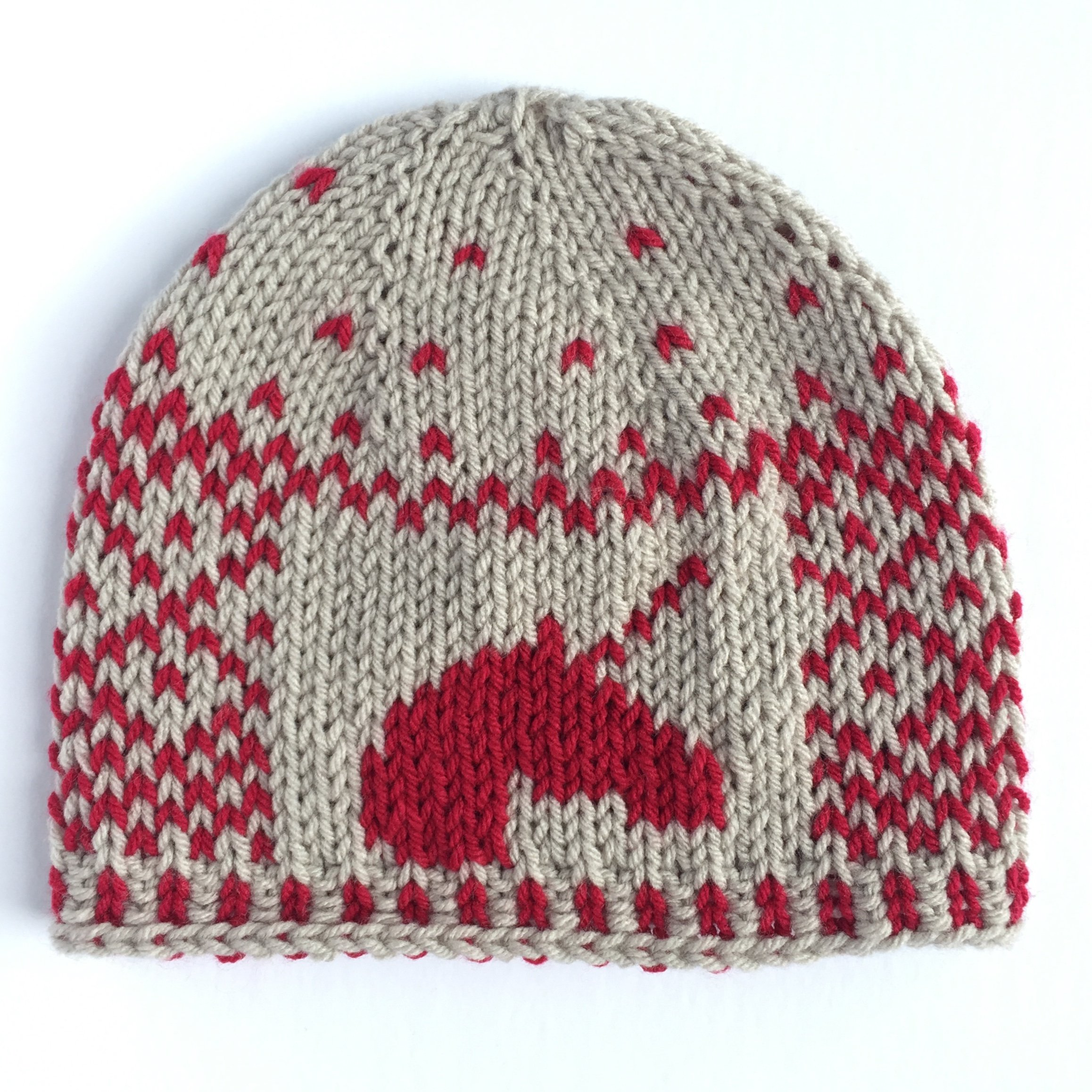 cherry sugar sprinkles – hand knit unicorn hat