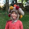 funny turkey hats - toddler crochet 1