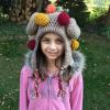 crochet thanksgiving turkey hat for kids - image 1