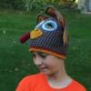 crochet turkey hat for tween - image 2