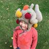funny turkey hats - toddler crochet 2