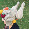 crochet turkey leg hat pattern - image 2