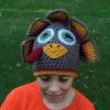 crochet turkey hat for tween - image 3