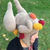 crochet turkey leg hat pattern - image 3