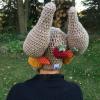 crochet turkey leg hat pattern - image 4