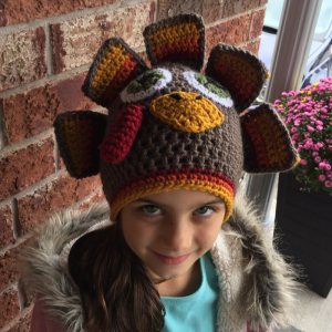 crochet turkey hat free pattern - image 5