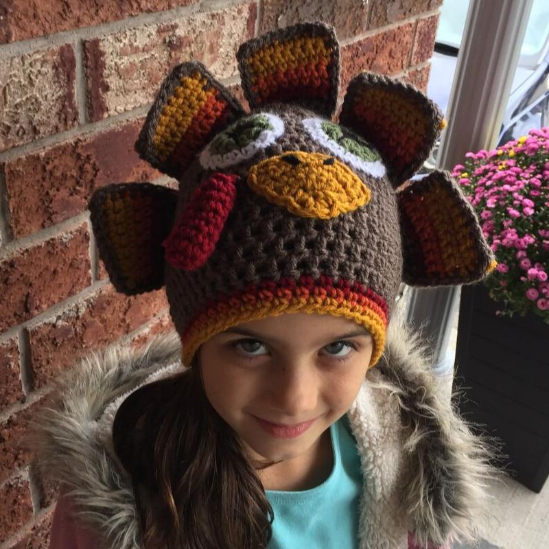 crochet turkey hat free pattern – image 5