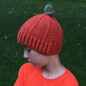 crochet pumpkin hat pattern - blog image 1