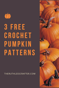crochet pumpkin patterns - featured image