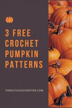 crochet pumpkin patterns - featured image