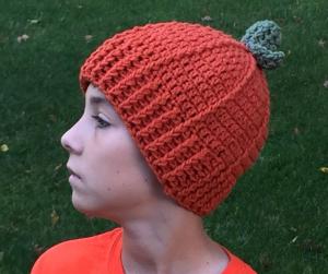 free crochet pumpkin pattern - image fb