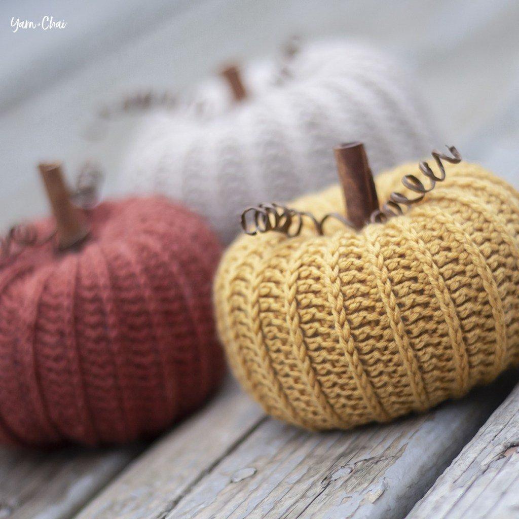 crochet pumpkin patterns - image 2