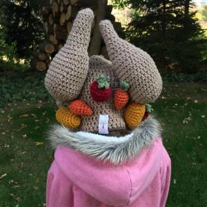 crochet roast turkey hat - image 2