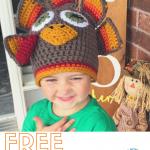 crochet turkey beanie - featured image