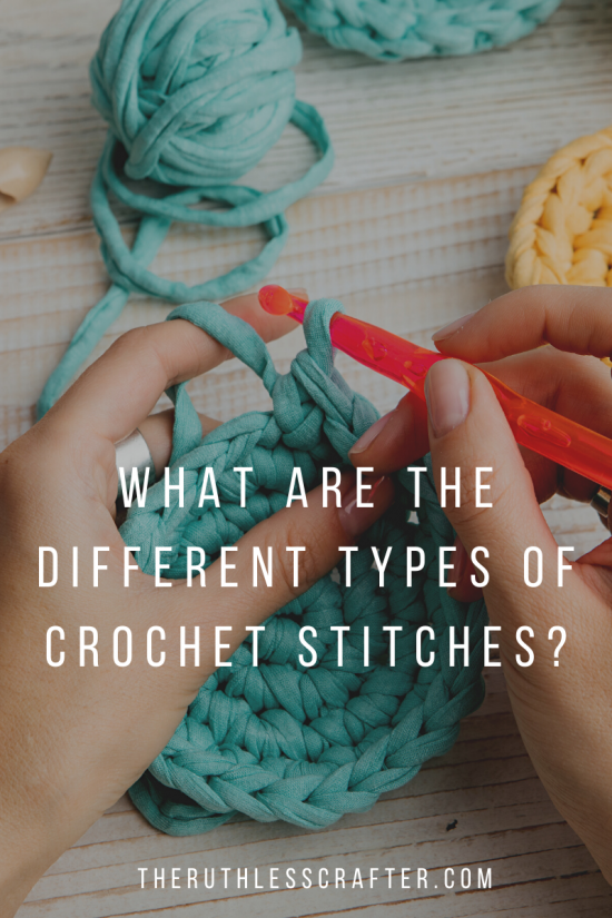 crochet stitches featured image