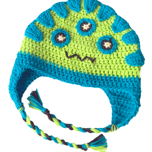 henry crochet monster hat for kids