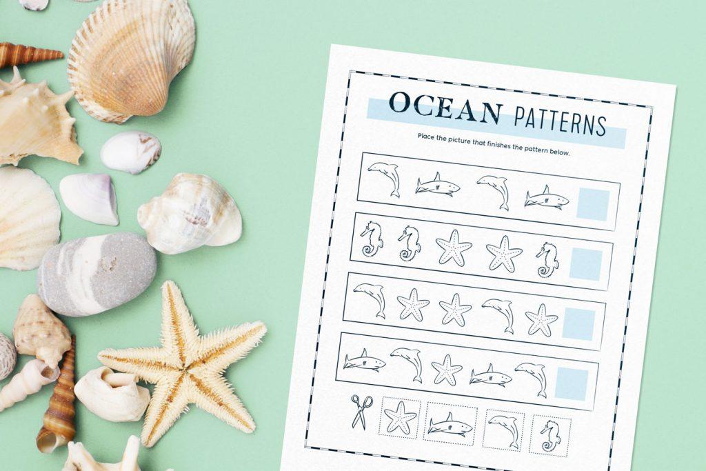 seaside activities - ocean patterns